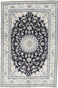 Nain Rug 192X290 Authentic  Oriental Handknotted Beige/Light Grey (Wool, Persia/Iran)