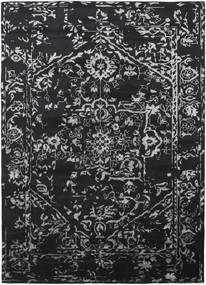 Orient Express - Black Rug 240X340 Authentic  Modern Handknotted Black/Dark Grey (Wool/Bamboo Silk, India)
