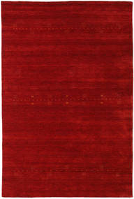 Loribaf Loom Eta - Red Rug 190X290 Modern Dark Red/Rust Red (Wool, India)