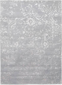 Orient Express - Grey Rug 210X290 Authentic  Modern Handknotted Light Purple/Light Grey (Wool/Bamboo Silk, India)