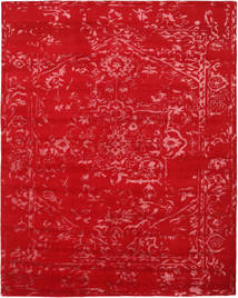Orient Express - Red Rug 240X300 Authentic  Modern Handknotted Crimson Red/Rust Red (Wool/Bamboo Silk, India)