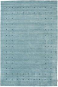 Loribaf Loom Delta - Lichtblauw Vloerkleed 190X290 Modern Lichtblauw/Donker Turkoois (Wol, India)