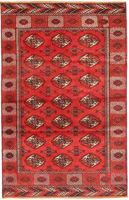 Turkaman Rug 117X187 Authentic  Oriental Handknotted Dark Red/Orange (Wool, Persia/Iran)
