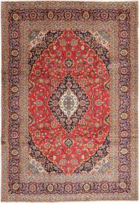 Keshan Rug 240X352 Authentic  Oriental Handknotted Brown/Light Brown (Wool, Persia/Iran)