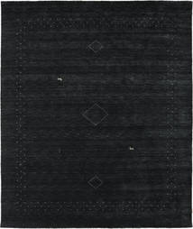 Loribaf Loom Alfa - Black/Grey Rug 240X290 Modern Dark Blue (Wool, India)