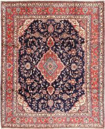 Hamadan#shahrbaf Teppe 282X342 Ekte Orientalsk Håndknyttet Mørk Lilla/Lyserosa Stort (Ull, Persia/Iran)