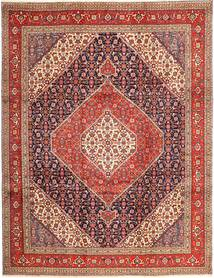 Tabriz Rug 265X340 Authentic  Oriental Handknotted Dark Red/Rust Red Large (Wool, Persia/Iran)