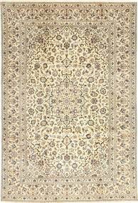 Keshan Rug 238X355 Authentic  Oriental Handknotted Light Brown/Beige (Wool, Persia/Iran)