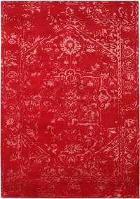 Orient Express - Rojo Alfombra 240X340 Moderna Hecha A Mano Roja/Óxido/Roja (Lana/Seda De Bambú, India)