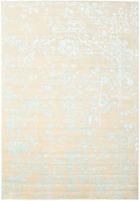 Orient Express - White/Blue Rug 240X340 Authentic  Modern Handknotted Beige/White/Creme (Wool/Bamboo Silk, India)