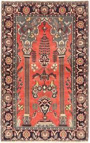 Arak Covor 125X198 Orientale Lucrat Manual Roșu-Închis/Maro Închis (Lână, Persia/Iran)