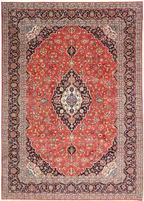 Keshan Matto 268X376 Itämainen Käsinsolmittu Vaaleanruskea/Tummanpunainen/Ruoste Isot (Villa, Persia/Iran)