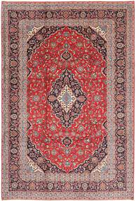 Keshan Rug 243X355 Authentic  Oriental Handknotted Dark Red/Light Pink (Wool, Persia/Iran)