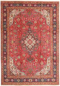 Tabriz Rug 240X335 Authentic  Oriental Handknotted Dark Red/Rust Red (Wool, Persia/Iran)