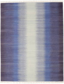 Ikat - Dark Blue Rug 240X300 Authentic  Modern Handwoven Light Grey/Purple (Wool, India)