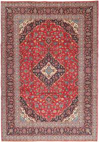 Keshan Teppe 250X353 Ekte Orientalsk Håndknyttet Mørk Rød/Rust Stort (Ull, Persia/Iran)