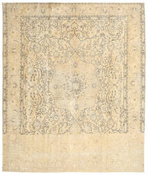 Colored Vintage Rug 290X342 Authentic  Modern Handknotted Beige/Yellow/Light Brown Large (Wool, Persia/Iran)