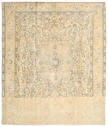 Colored Vintage Teppich  290X342 Echter Moderner Handgeknüpfter Beige/Hellgrau Großer (Wolle, Persien/Iran)
