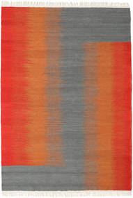 Ikat - Red / Grey carpet CVD17526