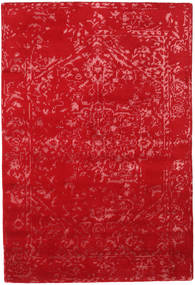 Orient Express - Red Rug 140X200 Authentic  Modern Handknotted Crimson Red (Wool/Bamboo Silk, India)
