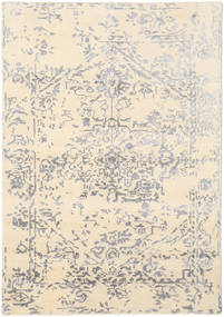 Orient Express - White/Grey Rug 140X200 Authentic  Modern Handknotted Beige/Light Grey (Wool/Bamboo Silk, India)