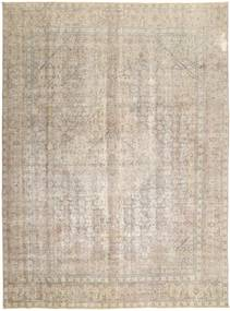 Colored Vintage Rug 286X376 Authentic  Modern Handknotted Light Grey/Beige Large (Wool, Persia/Iran)