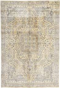 Colored Vintage Rug 190X280 Authentic  Modern Handknotted Light Brown/Light Grey (Wool, Persia/Iran)