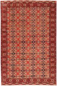 Turkaman Patina Rug 210X316 Authentic  Oriental Handknotted Dark Red (Wool, Persia/Iran)