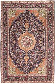 Tabriz Patina Alfombra 224X340 Oriental Hecha A Mano Marrón Claro/Púrpura Oscuro (Lana, Persia/Irán)
