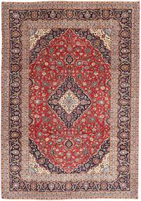Keshan Patina Rug 237X337 Authentic  Oriental Handknotted Dark Red/Light Brown/Light Pink (Wool, Persia/Iran)