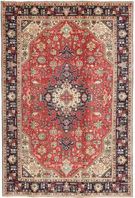 Tabriz Patina Rug 200X298 Authentic  Oriental Handknotted Light Brown/Dark Blue (Wool, Persia/Iran)