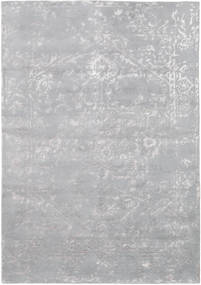 Orient Express - Grey Rug 160X230 Authentic  Modern Handknotted Light Purple/Light Grey (Wool/Bamboo Silk, India)