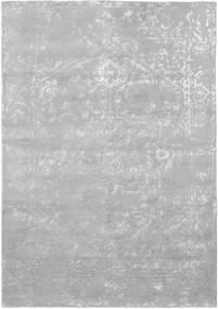 Orient Express - グレー 絨毯 160X230 モダン 手織り 薄紫色/薄い灰色 (ウール/バンブーシルク, インド)