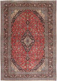 Keshan Patina Matta 292X412 Äkta Orientalisk Handknuten Mörkröd/Ljusbrun Stor (Ull, Persien/Iran)