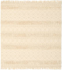 Kilim Berber Ibiza - Natural Rug 200X200 Authentic  Modern Handwoven Square Beige/Light Pink (Wool, India)