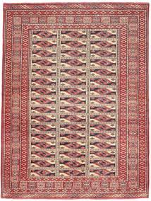 Turkaman Patina Matto 131X177 Itämainen Käsinsolmittu Ruskea/Tummanbeige (Villa, Persia/Iran)