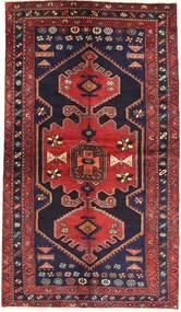 Zanjan Teppe 140X240 Ekte Orientalsk Håndknyttet Mørk Lilla/Mørk Rød (Ull, Persia/Iran)