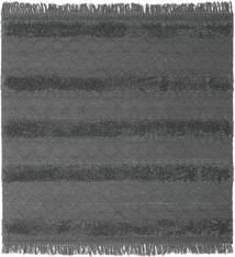 Kilim Berber Ibiza - Delikatna Szarość Dywan 200X200 Nowoczesny Tkany Ręcznie Kwadratowy Niebieski/Ciemnoszary (Wełna, Indie)