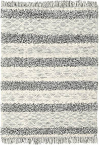 Kilim Berber Ibiza - Black and White Mix carpet CVD19393