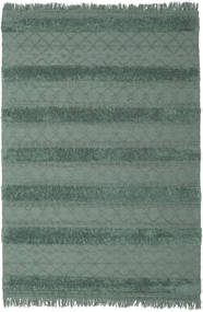 Kilim Berber Ibiza - Misty Green Rug 200X300 Authentic  Modern Handwoven Dark Grey/Dark Green (Wool, India)