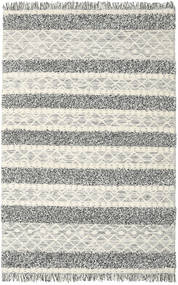 Kilim Berber Ibiza - Black And White Mix Rug 200X300 Authentic  Modern Handwoven Light Grey/Beige (Wool, India)