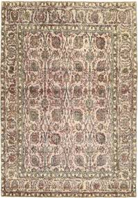 Colored Vintage Rug 240X345 Authentic  Modern Handknotted Light Brown/Brown (Wool, Persia/Iran)