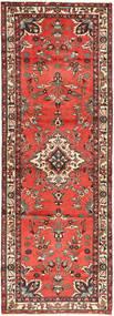 Hamadan Teppe 105X307 Ekte Orientalsk Håndknyttet Teppeløpere Mørk Rød/Orange (Ull, Persia/Iran)