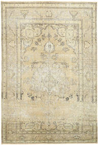 Colored Vintage Rug 192X288 Authentic  Modern Handknotted Dark Beige/Beige (Wool, Persia/Iran)