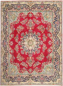 Kerman Matto 292X387 Itämainen Käsinsolmittu Punainen/Tummanharmaa Isot (Villa, Persia/Iran)