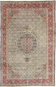Moud Rug 193X299 Authentic  Oriental Handknotted Light Brown/Brown (Wool, Persia/Iran)