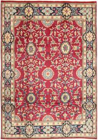 Kerman Dywan 208X296 Orientalny Tkany Ręcznie Czerwony/Beżowy (Wełna, Persja/Iran)