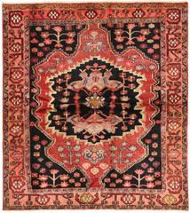 Lori Rug 170X190 Authentic  Oriental Handknotted Dark Brown/Brown (Wool, Persia/Iran)