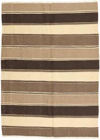 Kilim Tapete 152X207 Oriental Tecidos À Mão Castanho Claro/Castanho Escuro/Bege (Lã, Pérsia/Irão)