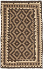 Kilim Rug 158X247 Authentic  Oriental Handwoven Dark Brown/Light Brown (Wool, Persia/Iran)